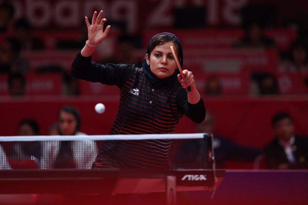 حذف ندا شهسواری از تنیس روی میز بازی های آسیایی