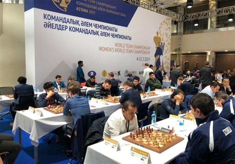 شطرنج قهرمانی دنیا، تساوی ارزشمند ایران مقابل هند
