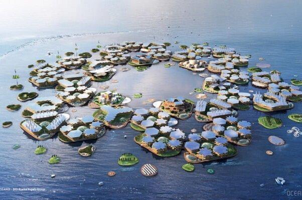 ساخت شهرهایی که می توانند شنا کنند!