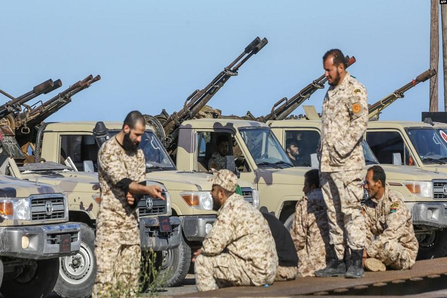21 تن در درگیری های نیروهای دولت وحدت ملی لیبی کشته شدند