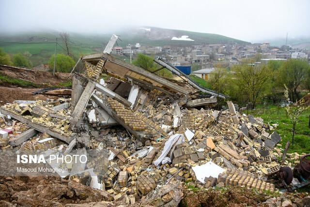 توضیحات معاون عمرانی بنیادمسکن کشور در مورد جابجایی روستای قلعه قافه بالا مینودشت