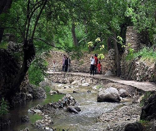 سامان دهی گردشگری در روستای اخلمد چناران آنالیز شد