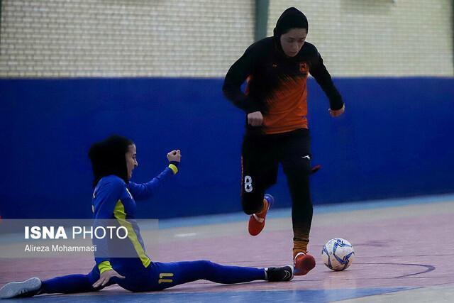 انتقام گیری مس از قهرمان فصل گذشته، ساپیا صدرنشین لیگ فوتسال بانوان