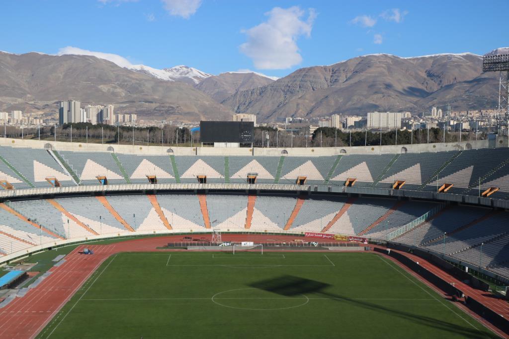 ورزشگاه آزادی آماده برگزاری دربی 91