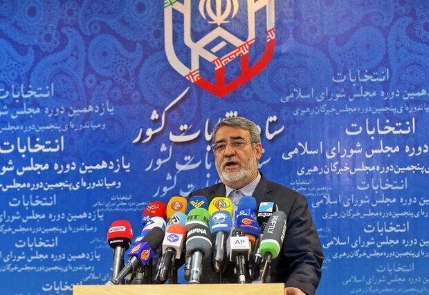 رحمانی فضلی: معین تاریخ احتمالی دور دوم انتخابات مجلس، تا الان گزارش های زیادی درباره تخلفات انتخاباتی نداشتیم