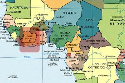 تخریب مرکز آزمایش کرونا در پایتخت ساحل عاج توسط مردم
