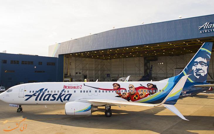 زیباترین رنگ آمیزی هایی که روی بدنه هواپیماها اجرا شده است